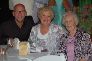Jeff, Mom, and Grandma